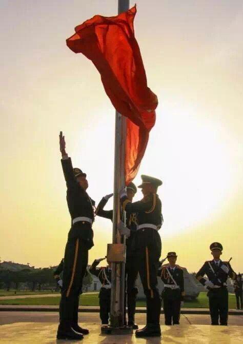 你了解明德国旗仪仗队吗?