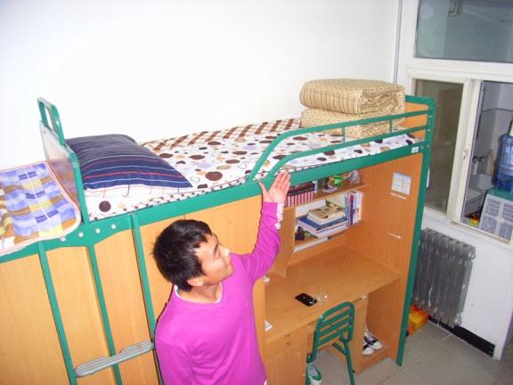创意宿舍家具手绘图